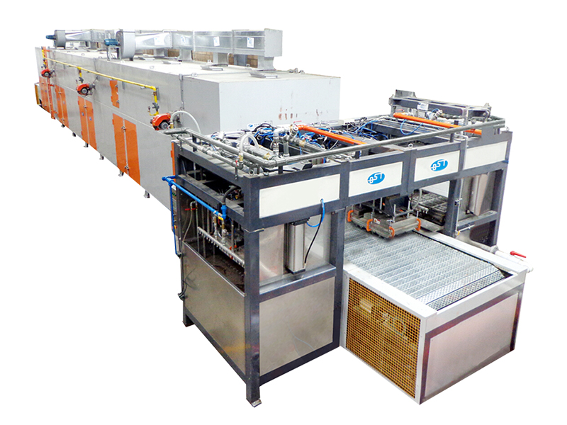 Automatic Industrial Packaging Pulp Molding Production Line