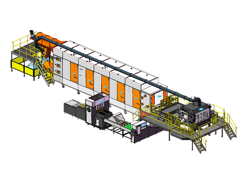 Automatic Rotary Egg Carton Production Line